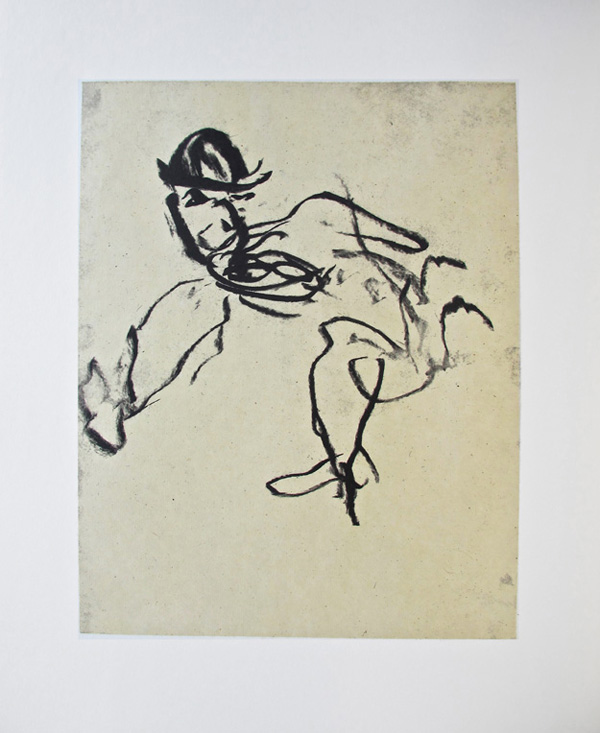 Willem de Kooning lithograph