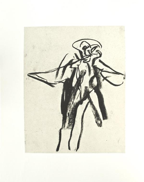 Williem de Kooning lithograph
