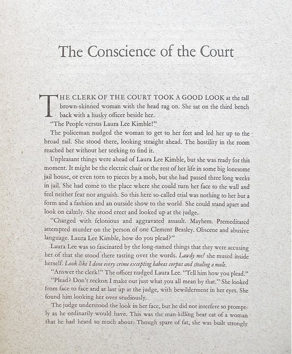 The Conscience of the Court
