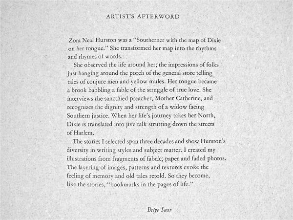 Artist's Afterword