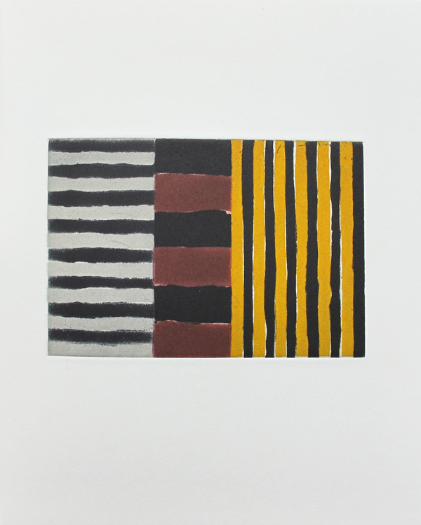 Sean Scully etching